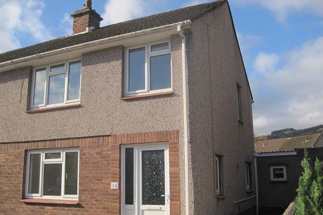 Thumbnail Semi-detached house to rent in Glantwrch, Ystalyfera, Ystalyfera, Swansea.