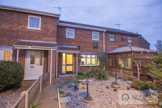 Thumbnail Terraced house for sale in Gorse Close, Belton, Great Yarmouth
