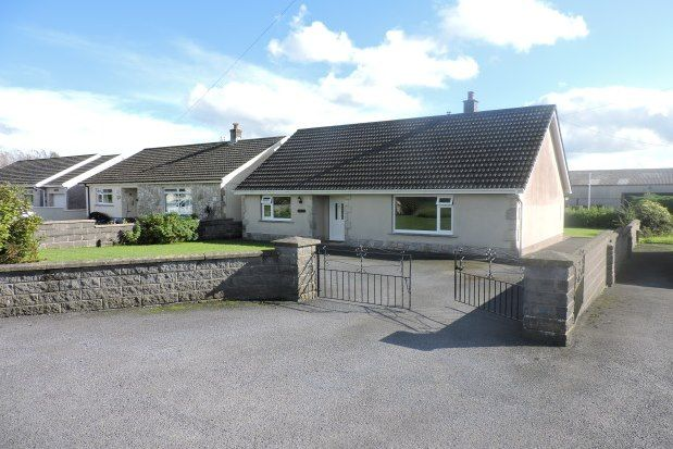 Thumbnail Bungalow to rent in Gower Villa Lane, Clynderwen