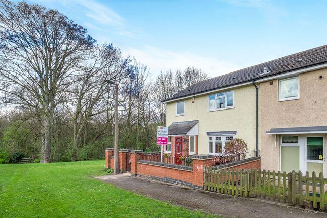 Thumbnail End terrace house for sale in Chilton Drive, Watnall, Nottingham