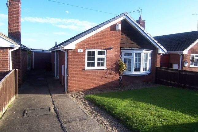 Thumbnail Detached bungalow to rent in Worcester Avenue, Mansfield Woodhouse, Mansfield