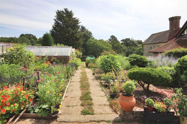 Kitchen Garden of Horsted Lane, Sharpthorne, East Grinstead, West Sussex RH19