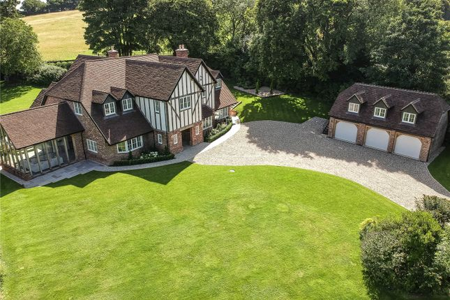 Thumbnail Detached house for sale in Pickaxe Lane, South Warnborough, Hook