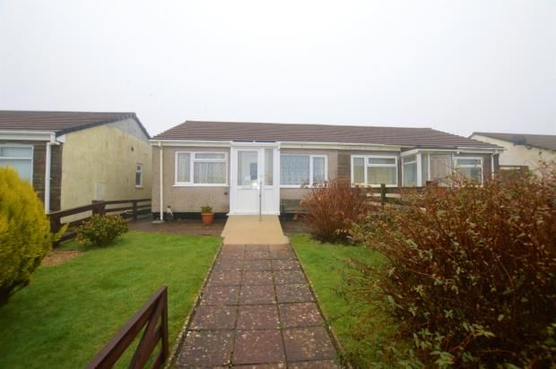 Thumbnail Semi-detached bungalow for sale in Boskenna Road, Four Lanes, Redruth, Cornwall