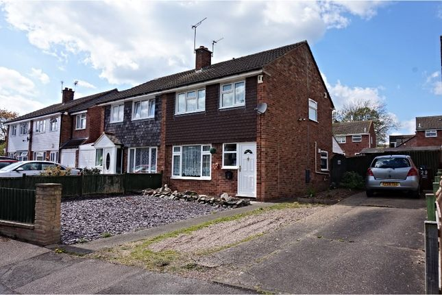 Thumbnail Semi-detached house for sale in Millfield Close, Anstey