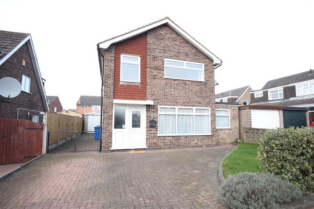 Thumbnail Detached house for sale in Adwick Close, Mickleover, Derby