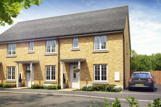 """Thumbnail Terraced house for sale in """"Compton"""" at Great Mead, Yeovil"""