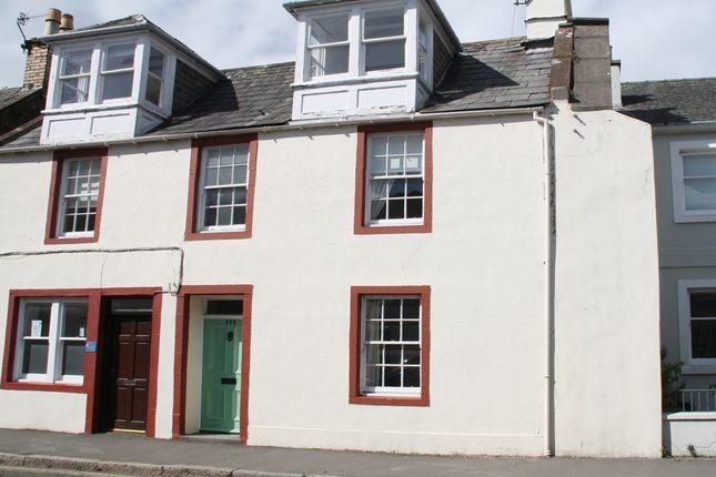 Thumbnail Terraced house for sale in High Street, Kirkcudbright