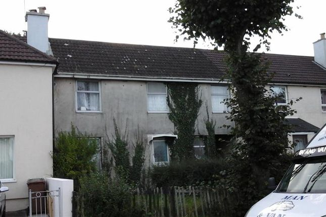 Thumbnail Terraced house for sale in Higher Efford Road, Plymouth