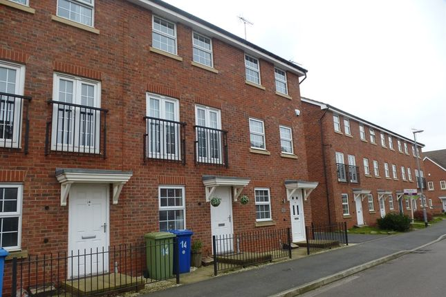 Thumbnail Terraced house for sale in Pingle Close, Shireoaks, Worksop