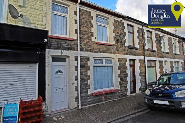 Thumbnail Terraced house for sale in Telekebir Road Hopkinstown, Pontypridd, Rhondda Cynon Taff