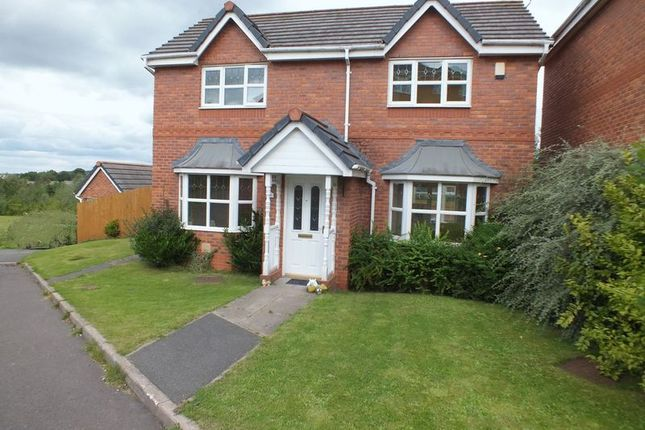 Thumbnail Detached house to rent in Moorland Heights, Biddulph, Stoke-On-Trent