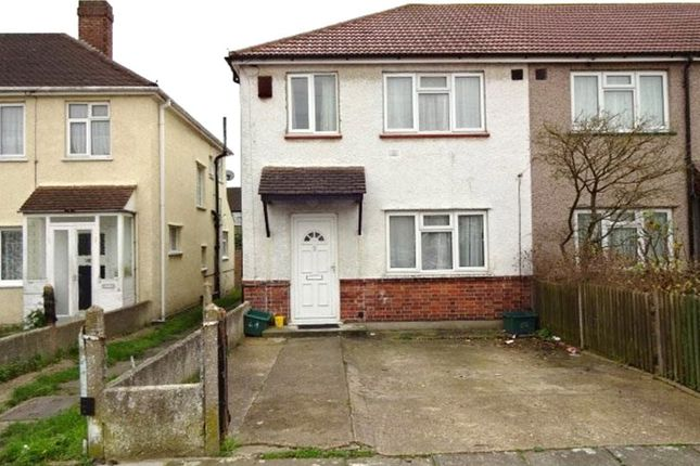 Thumbnail End terrace house to rent in Kingsbridge Road, Southall
