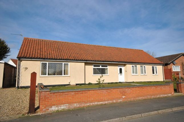 Thumbnail Detached bungalow for sale in Sunny Grove, New Costessey, Norwich