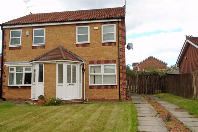 Thumbnail Semi-detached house to rent in Durham Close, Bedlington