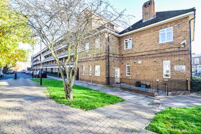 External of Prebend Street, London N1