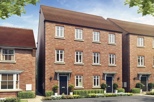 "Thumbnail Semi-detached house for sale in ""Cannington"" at Trowbridge Road, Westbury"