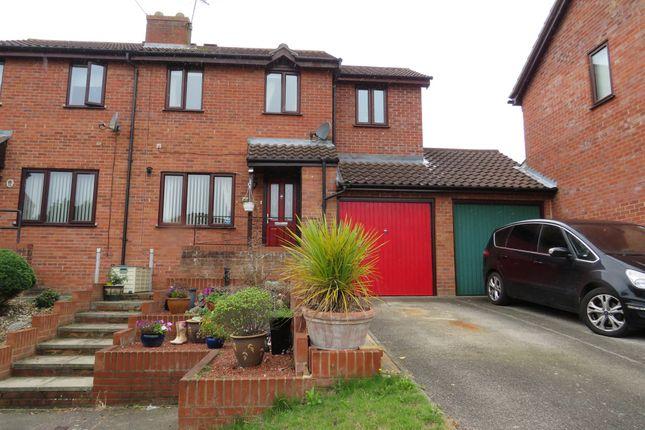 Thumbnail Semi-detached house for sale in Surrey Close, Framlingham, Woodbridge