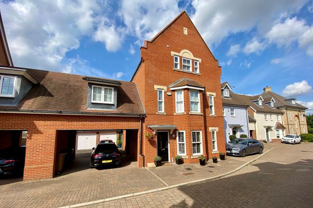Thumbnail Town house for sale in Telford Place, Chelmsford