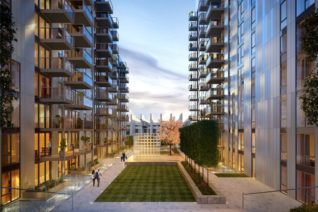 Thumbnail Flat for sale in Belcanto Apartments, North West Village, Exhibition Way, Wembley