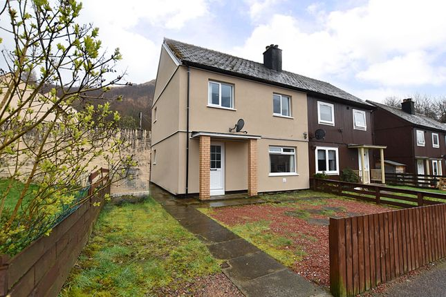 Thumbnail Semi-detached house for sale in Lovat Road, Kinlochleven