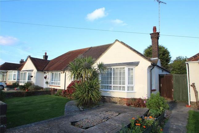 Thumbnail Semi-detached bungalow for sale in Lindum Road, Worthing, West Sussex