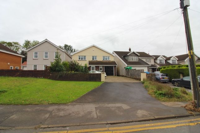 Thumbnail 5 bed detached house to rent in Glebe Road, Loughor, Swansea