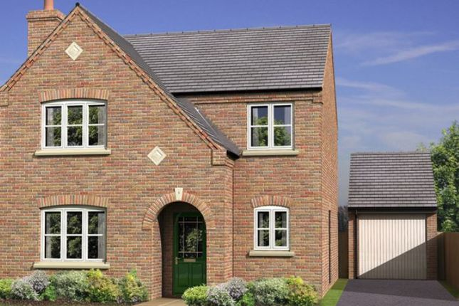 Thumbnail Detached house for sale in Two Gates, Tamworth