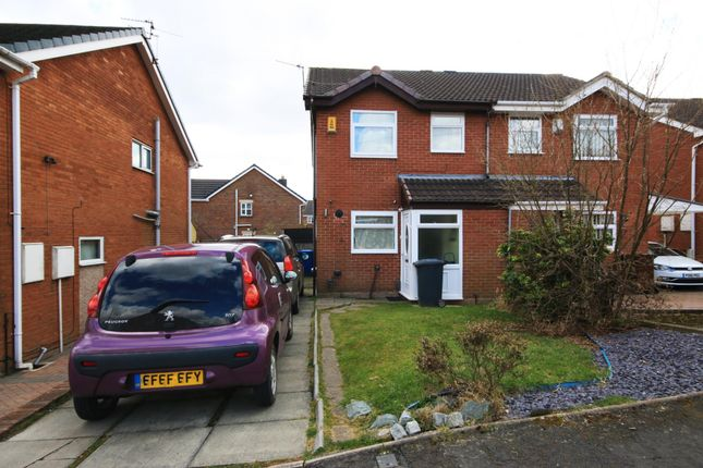 Thumbnail Semi-detached house for sale in Heron Drive, Wigan