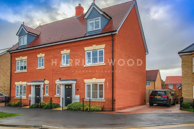 Thumbnail Town house for sale in Lancaster Approach, Colchester
