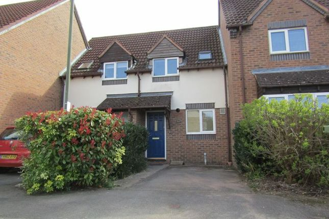 Thumbnail Terraced house to rent in Little Acorns, Bishops Cleeve, Cheltenham