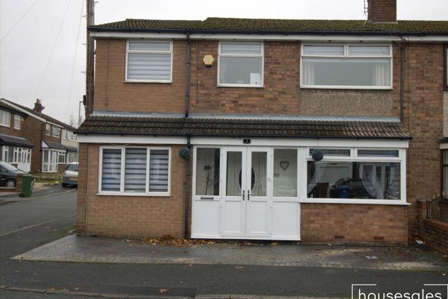 Thumbnail Semi-detached house for sale in Primrose Drive Droylsden, Manchester