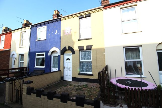 Thumbnail Terraced house to rent in Winifred Road, Great Yarmouth