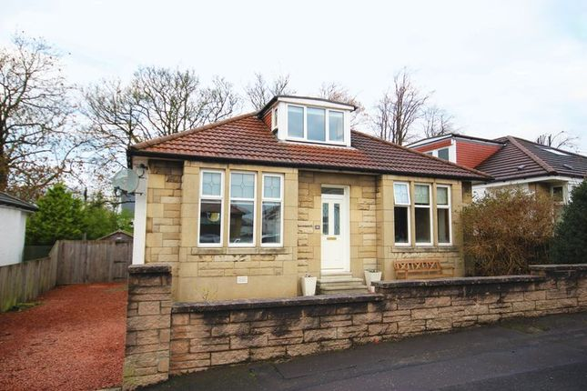 Thumbnail Detached bungalow for sale in Ailsa Drive, Giffnock, Glasgow
