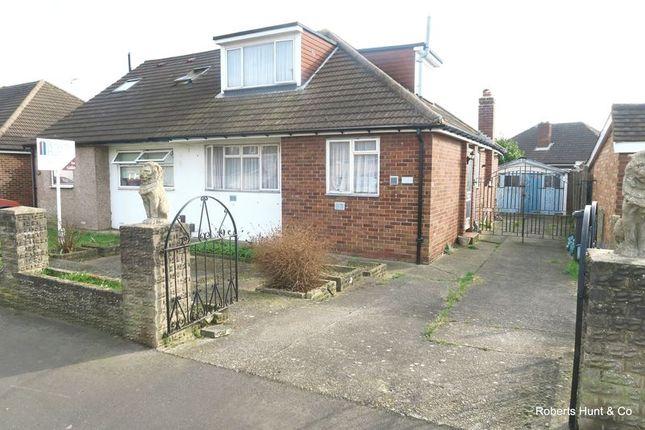 Thumbnail Semi-detached bungalow for sale in Bedfont Close, Feltham