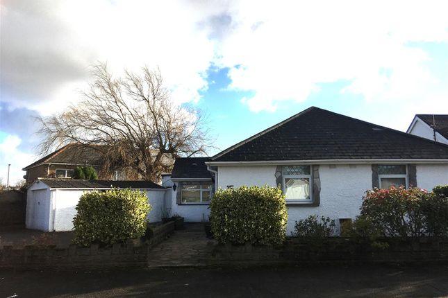 Thumbnail Detached bungalow for sale in Dyffryn Place, Barry