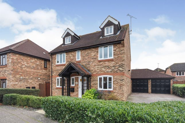 Thumbnail Detached house for sale in Beeleigh Link, Chelmer Village, Chelmsford