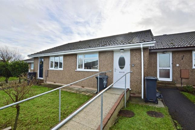 Thumbnail Terraced bungalow for sale in Tower Way, Dunkeswell, Honiton, Devon