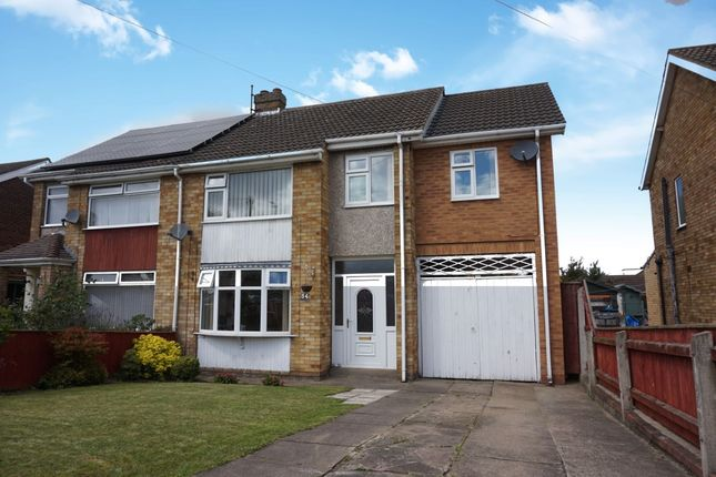 Thumbnail Semi-detached house for sale in Springfield Road, Scartho