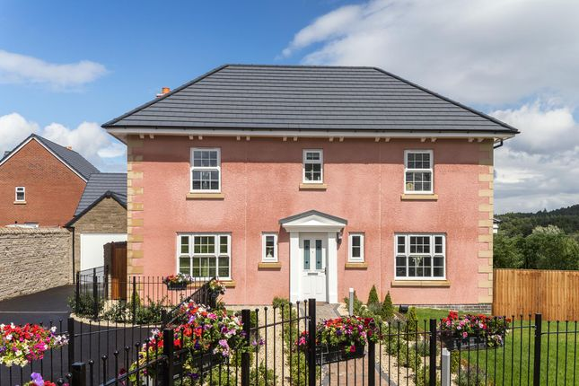 "Thumbnail Detached house for sale in ""Oakhampton"" at Bevans Lane, Pontrhydyrun, Cwmbran"