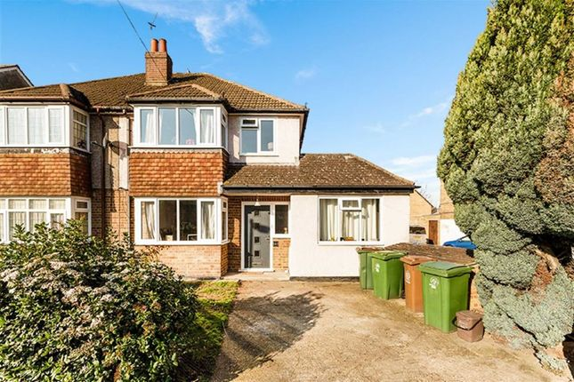 Thumbnail Semi-detached house for sale in Gander Green Lane, Sutton