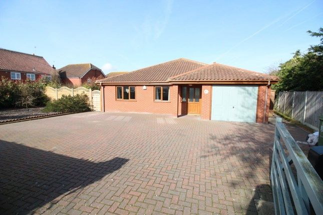 Thumbnail Detached bungalow for sale in Ormesby Lane, Filby, Great Yarmouth
