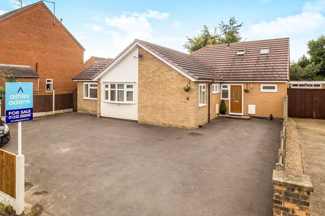 Thumbnail Detached bungalow for sale in Derby Road, Aston-On-Trent, Derby