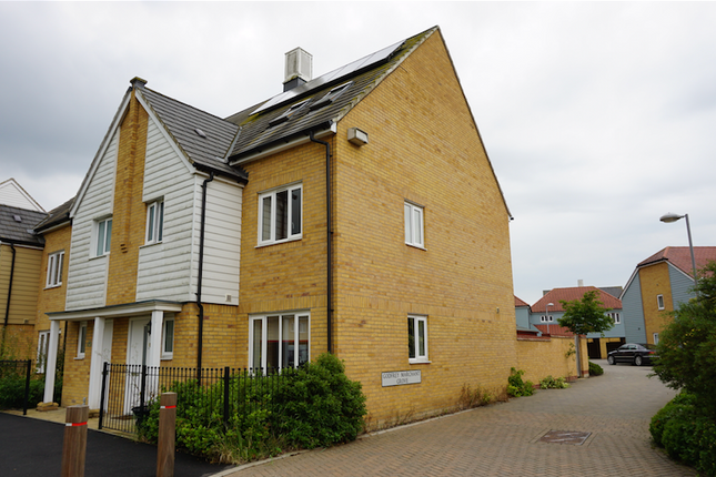 Thumbnail End terrace house to rent in Sir Henry Brackenbury Road, Ashford