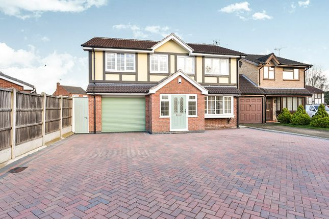 Thumbnail Detached house for sale in Stocker Avenue, Alvaston, Derby