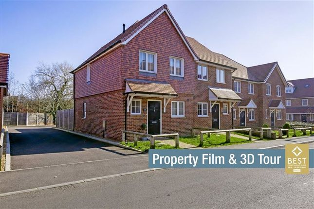Thumbnail 2 bed semi-detached house for sale in Coppice Grove, Hailsham