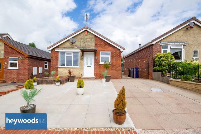 Thumbnail Detached bungalow for sale in Spode Grove, Westbury Park, Newcastle