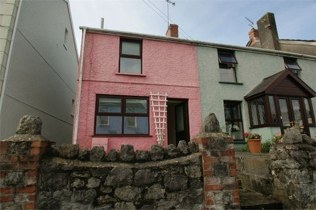 Thumbnail End terrace house to rent in Newton Road, Newton, Swansea