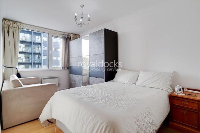 Bedroom Two of Boardwalk Place, London E14