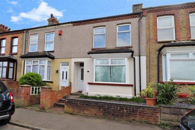 Thumbnail Terraced house for sale in Manor Road, Swanscombe